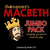 Macbeth Jumbo Pack of Activities and Assessments
