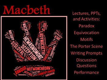 Macbeth: Lectures, PPTs, Performance, Discussion