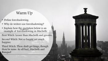 Macbeth Lesson Plan - Act Two