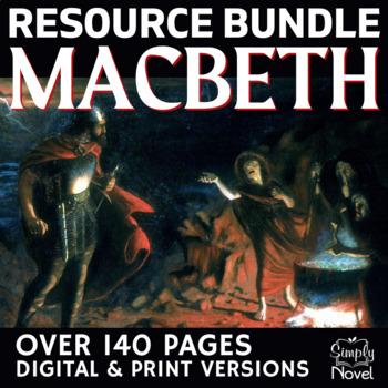 macbeth literature guide complete lesson plans bundle for rh teacherspayteachers com High School Literature Books for Sophomores Literature Teacher On the Web