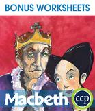 Macbeth - Literature Kit Gr. 9-12 - BONUS WORKSHEETS