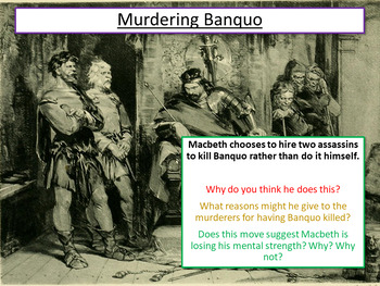 Macbeth: Macbeth Revision - Murdering Banquo