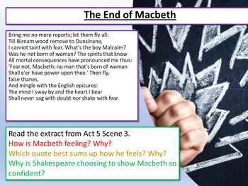 Macbeth: Macbeth Revision - The End