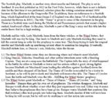 Macbeth Middle School Lesson Plan