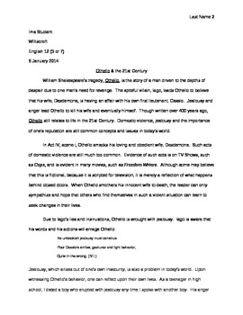 Macbeth & Modern Day Relevance - Essay