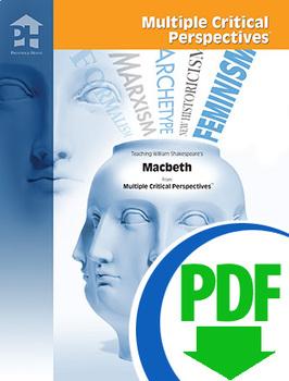 Macbeth Multile Critical Perspectives