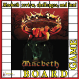 Macbeth Never Bored Fun Review Board Game