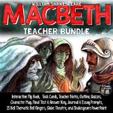 MACBETH: NOTES, TASK CARDS, FLIP BOOK, QUIZZES, PROMPTS, P