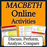 Macbeth Activities for Google Drive