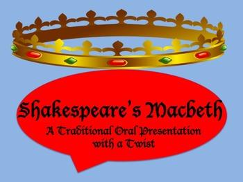 Macbeth Oral Presentation NO PREP
