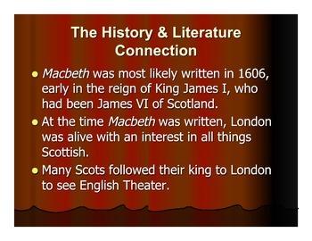 Macbeth - PowerPoint