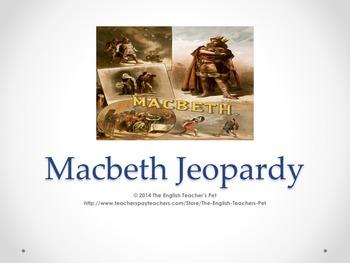 Macbeth PowerPoint Game