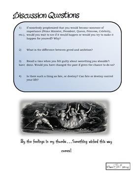 Macbeth Pre-Reading Activity