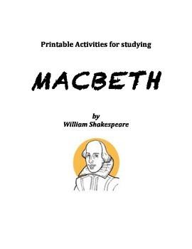 Macbeth Printable Activities