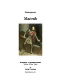 Macbeth: Questions, Essay and Seminar Topics, and a Punctu