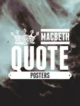 Macbeth Quote Posters
