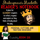 Macbeth Reader's Notebook