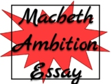 Macbeth Research Paper: Ambition