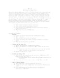 Macbeth Research Project