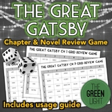 The Great Gatsby Review Activity: Game, Group Work, Quiz, Bell-Ringer