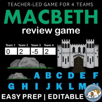 Macbeth Review Game