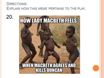 Macbeth Review: Memes, Cartoons, eCards, & Images