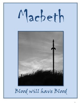 Macbeth: Review quizzes for each Act and fill-in-the blank