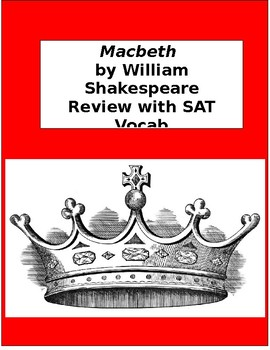 Macbeth - Review with SAT Vocabulary Words