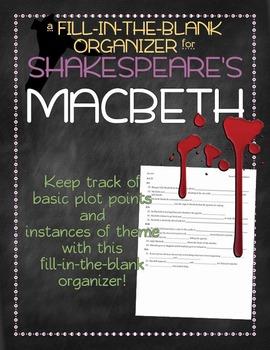 Macbeth Scene-by-Scene Organizer