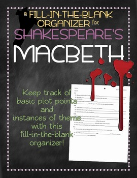 Macbeth Scene-by-Scene Organizer