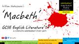Macbeth, Shakespeare! Complete Independent Reading Ebook BUNDLE x 11