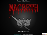 Macbeth Teaching Unit (PowerPoint and worksheets)