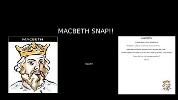 Macbeth Snap!!