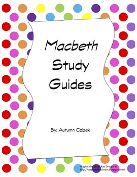 Macbeth Study Guides