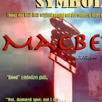 Macbeth Symbols poster
