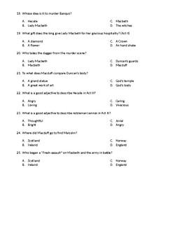 Macbeth TEST