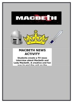 Macbeth TV News Activity