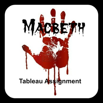 Macbeth Tableau Assignment - With Rubrics!
