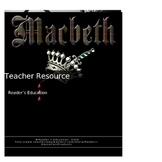 Macbeth - Teacher resource activities, essays, tests & ans
