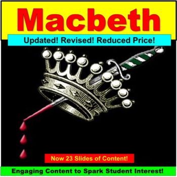 Macbeth, Teaching Lessons PowerPoint