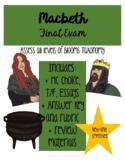 Macbeth Test & Study Guide