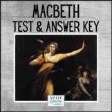Macbeth Test & Answer Key - Short Answer, Quote Analysis & Short Essay