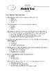 Macbeth Test on Acts I-III