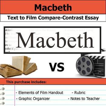 Macbeth - Text to Film Essay