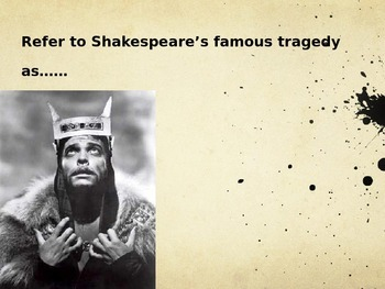 Macbeth - The Curse - Shakespeare Powerpoint