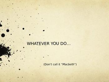 Macbeth - The Curse - Shakespeare Powerpoint
