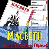 Macbeth : The Scottish Play Characterization Flipbook