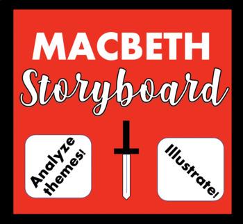 Macbeth Theme Storyboard Activity