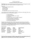 Macbeth Tragic Hero Essay Prompt and Graphic Organizer