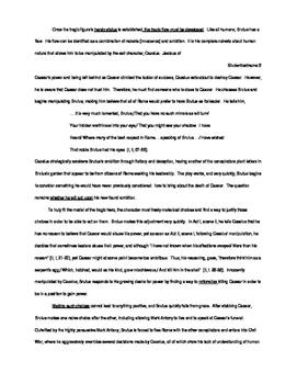 Macbeth Tragic Hero Explanatory Essay, W.12.2